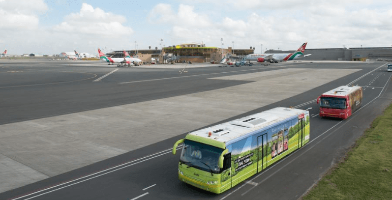 departure and flight transfers